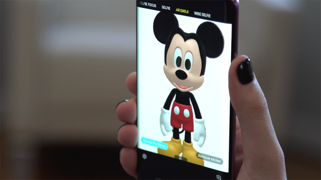 Mickey and Minnie Mouse Are Coming to Life on the Galaxy S9/S9+