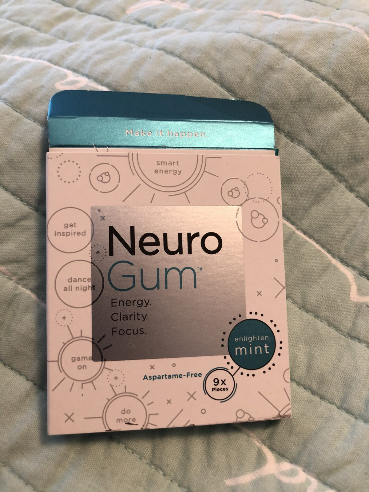 Neuro Gum Makes Your Mouth and Your Brain Buzz with Energy!