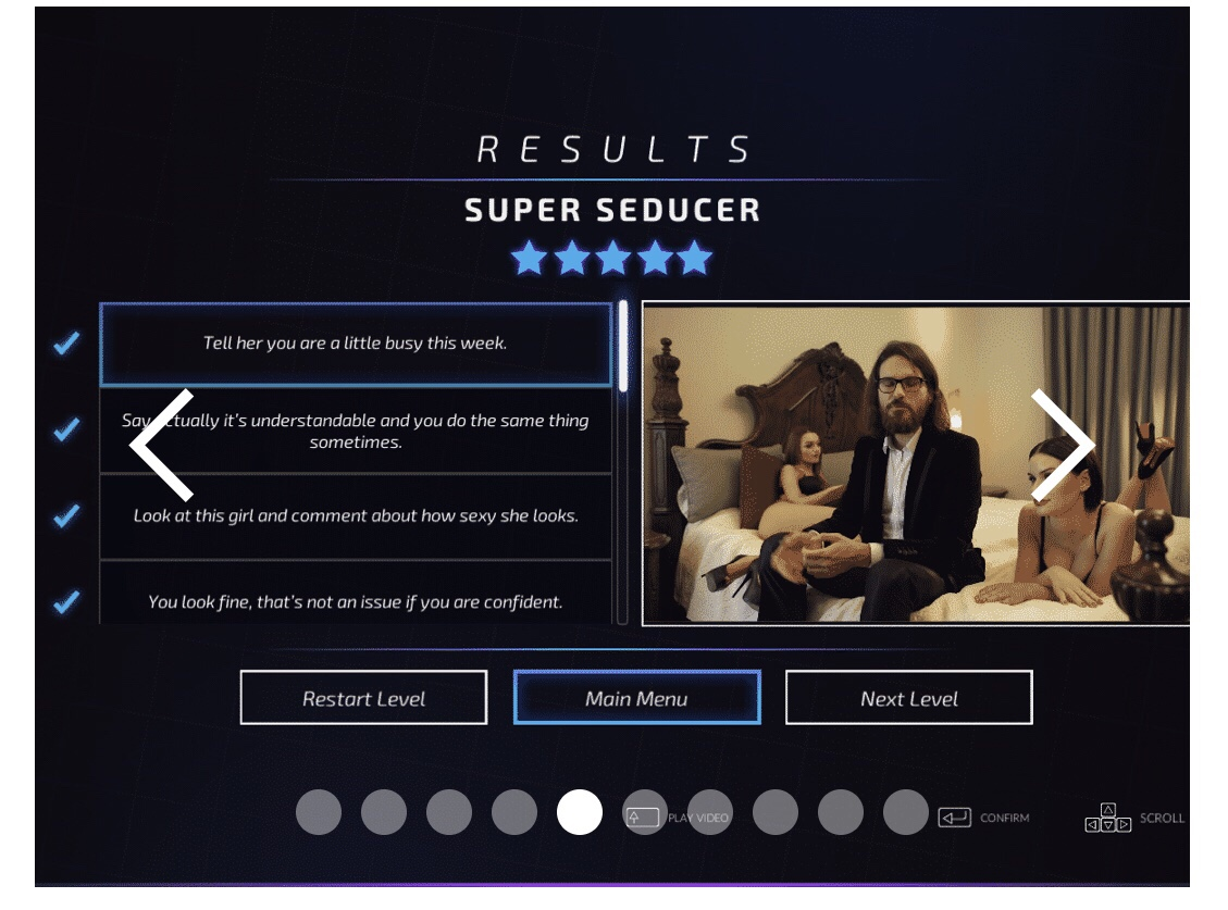 GearDiary Super Seducer Is a Super Creepy Game