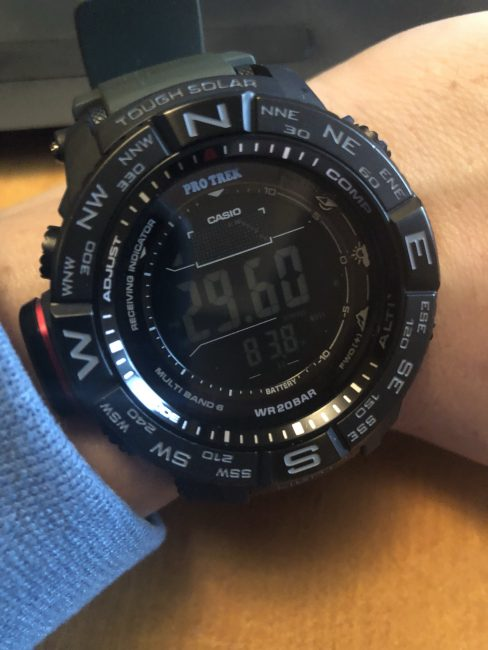 GearDiary The ABCs (Altimeter, Barometer, Compass) of Casio Produce a Truly Useful and Stylish Pro Trek Watch!