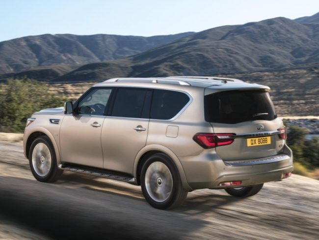 GearDiary 2018 Infiniti QX80 Is the Lap of Luxury