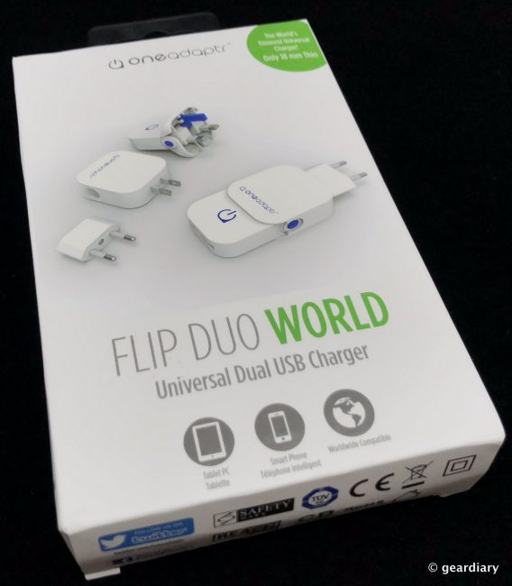 GearDiary Oneadaptr FLIP Family: Brilliantly Compact World Travel USB Chargers