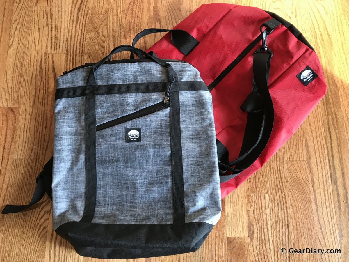 Flowfold Bags are Lightweight, Built to Last, and Environmentally Friendly 2b56fa4bcc