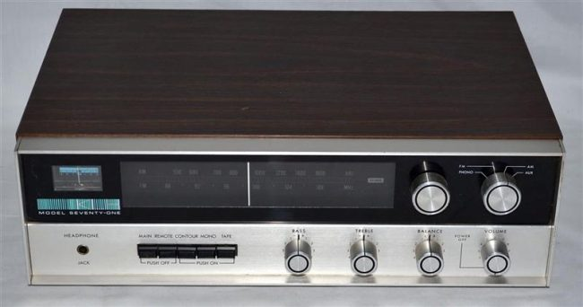 GearDiary Vintage Victory: The KLH Model Seventy-One Stereo Receiver