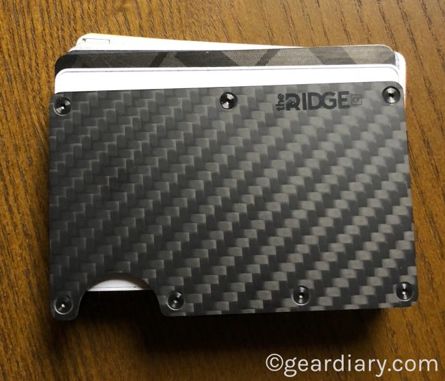 1e16d9ae476f Ridge Carbon Fiber Wallet is Minimal in Design but Offers Maximum ...