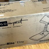 Ergo Impact LeanRite Elite Is the Standing Desk Chair Everyone Needs