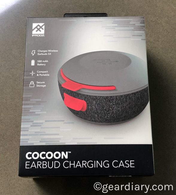 Music on the Go Thanks to the IFROGZ Cocoon Earbud Charging Case