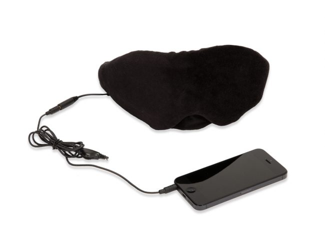 GearDiary Block Light and Rock the Night with the 1 Voice Sleep Headphones Eye Mask