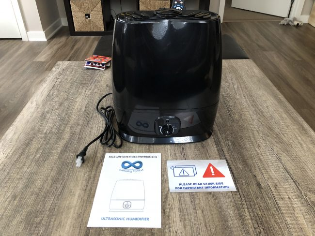 GearDiary Humidifiers Aren't Just for the Cold Months: A Review of the Everlasting Comfort Ultrasonic Humidifier