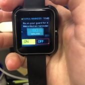 GearDiary The One61 Flash Smartwatch Will Make You Want to Get up And Move!