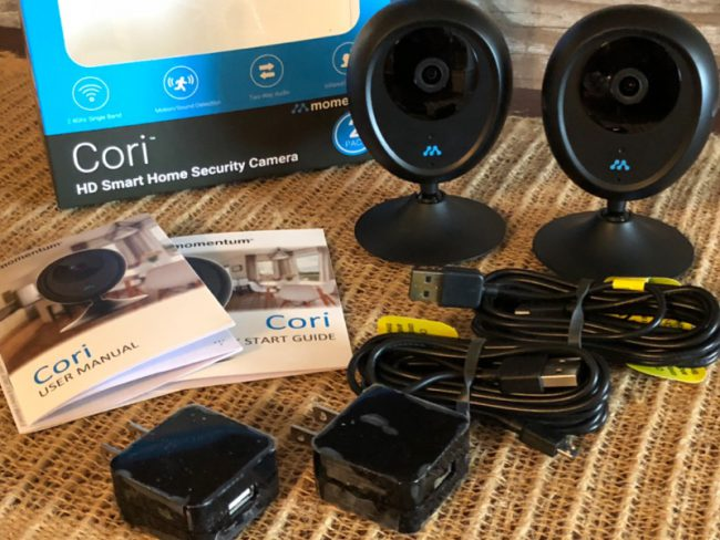 GearDiary Cori HD Smart Home Security Camera System Is a Good, Affordable Video Security Solution