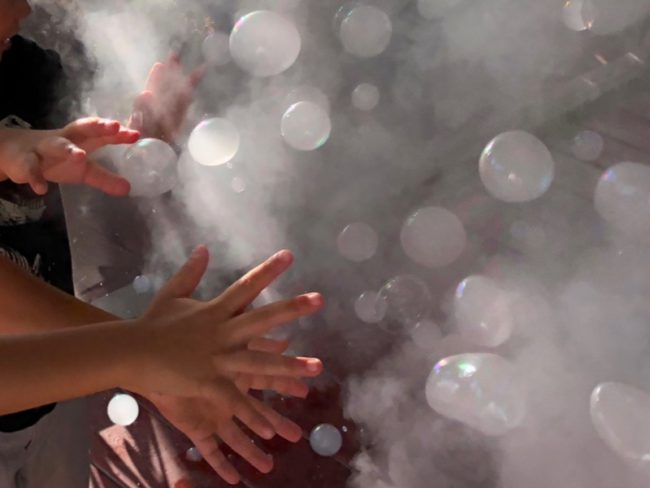 GearDiary Fobbles Fog Bubble Machine Is the New Life of The Party