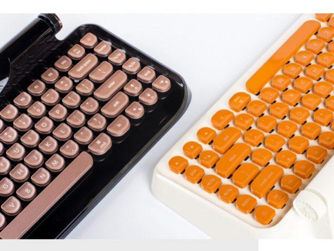 KnewKey Rymek Bluetooth Keyboard Is Retro Coolness