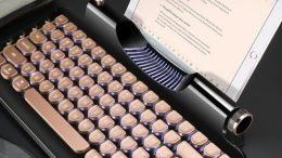 GearDiary KnewKey Rymek Bluetooth Keyboard Is Retro Coolness