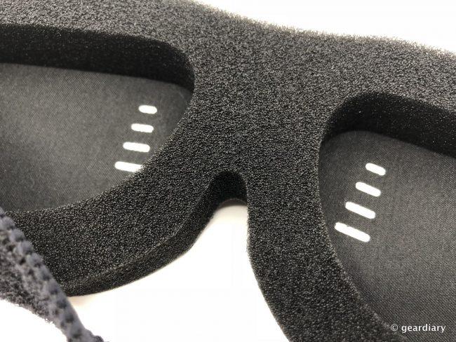 GearDiary Sound Oasis 'Glo to Sleep' GTS-2000 Sleep Therapy Mask Review