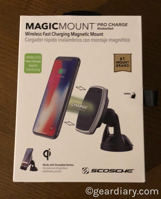 GearDiary Scosche MagicMount Pro Charge Is Qi-riffic