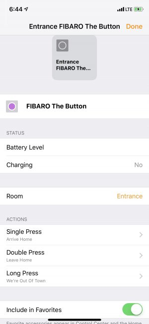 GearDiary The Fibaro Button Is a Great Accessory for Your HomeKit-Enabled Home