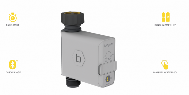 GearDiary B-hyve Hose Faucet Timer Takes (Some) of the Pain Out of Watering