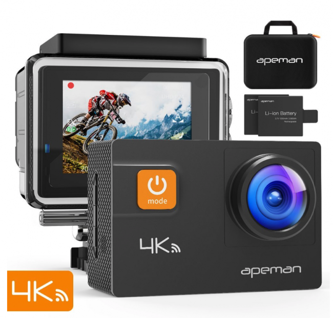 GearDiary APEMAN A80 Action Camera 4K Is an Affordable Way to Catch Your Next Adventure