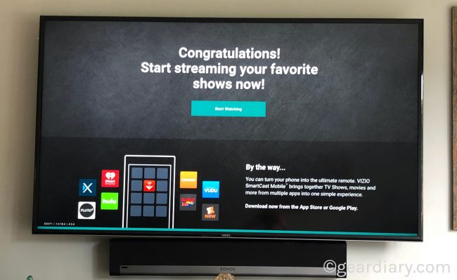 "GearDiary VIZIO SmartCast E-Series 65"" Class Ultra HD Home Theater Display Is Smarter Than Ever #Ad"