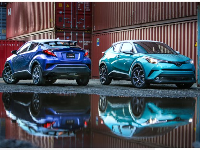 2018 Toyota C-HR Is Distinctively Different
