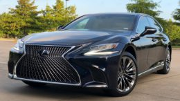 2018 Lexus LS 500h: Living Green in the Lap of Luxury