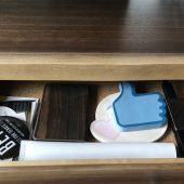 GearDiary Understands EVO 1: Elevate and Organize Your iMac with Gorgeous, Functional Wood