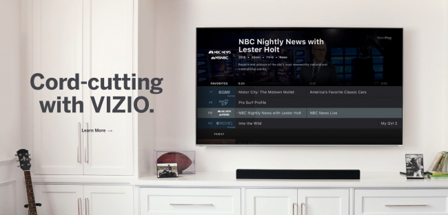 GearDiary VIZIO WatchFree Takes Cord-Cutting to the Next Level