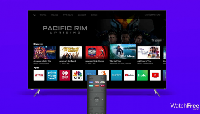 VIZIO WatchFree Takes Cord-Cutting to the Next Level