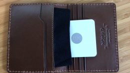 GearDiary Nomad Slim Wallet with Tile Tracking Keeps Your Stuff, Won't Get Lost
