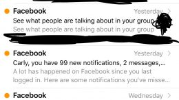 GearDiary Dear Facebook, I'm Just Not That Into You
