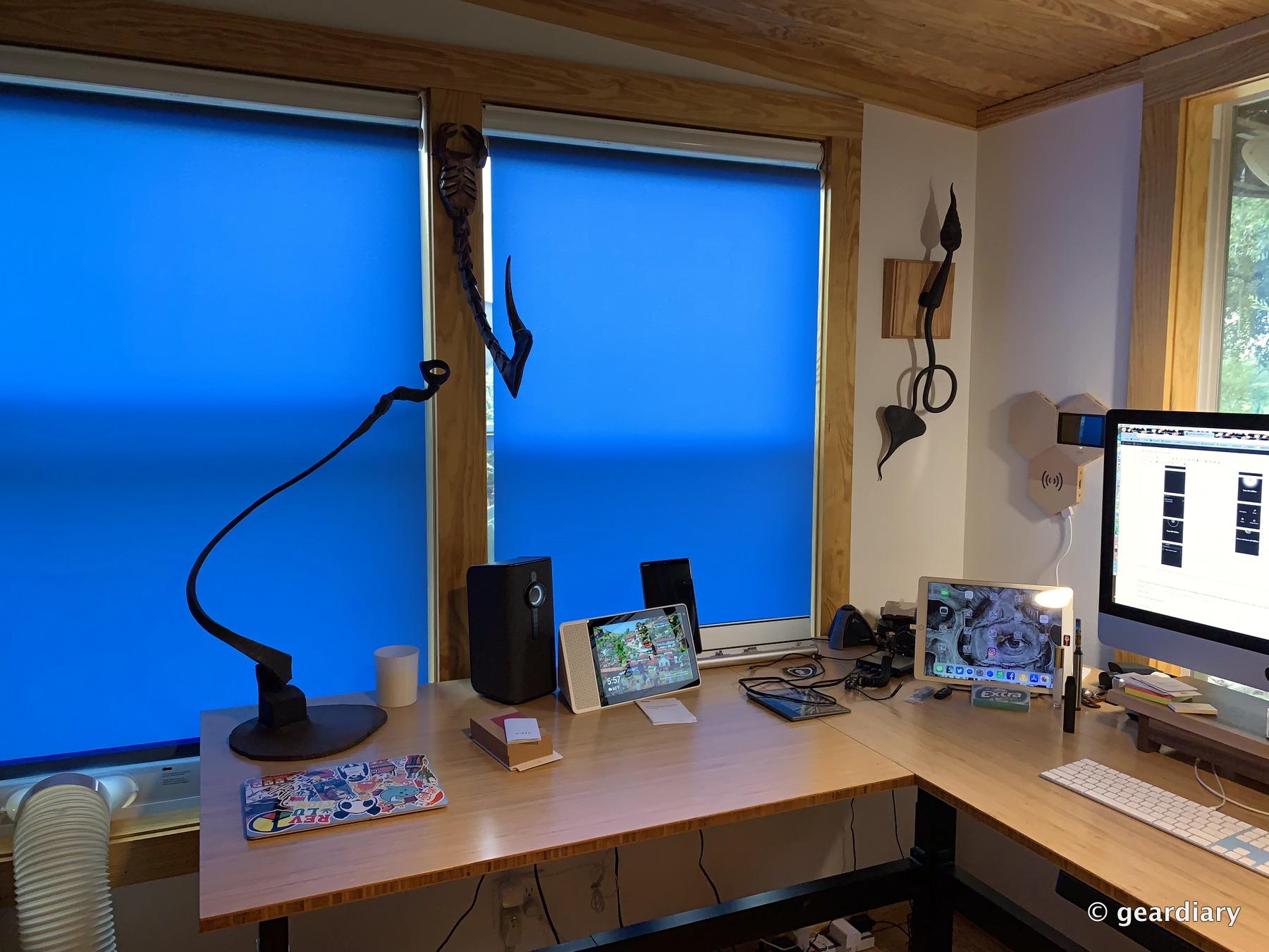 Smart Window Shades Google Home