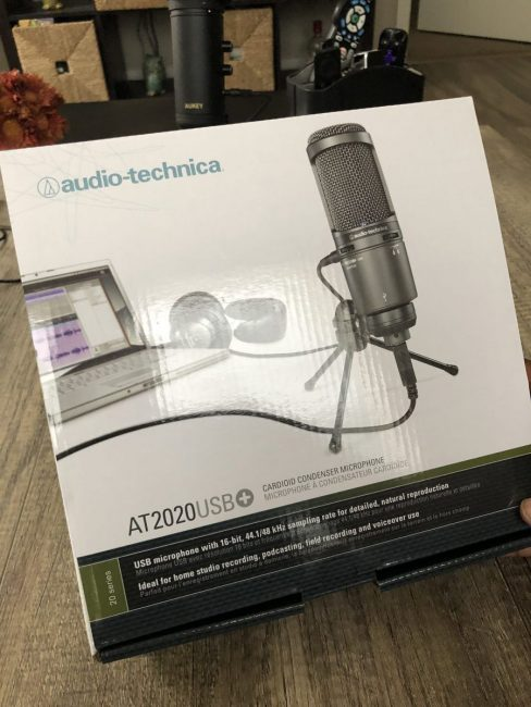 Audio Technica's AT2020 Cardioid Microphone Is a Great Way