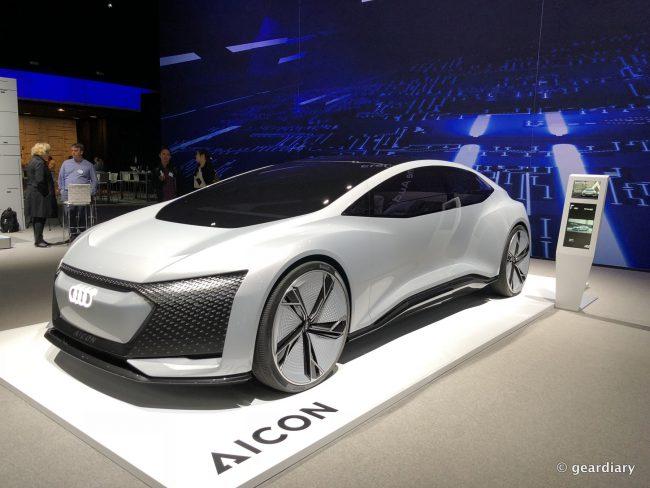 GearDiary Audi e-tron AICON