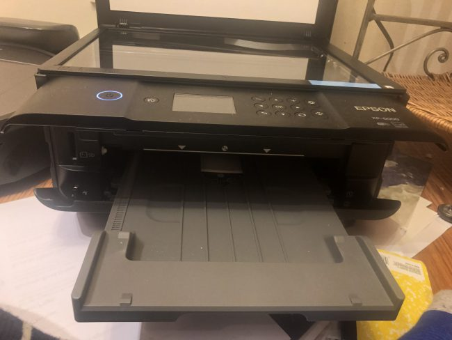 GearDiary Print out of Tight Spaces with the Epson XP-6000