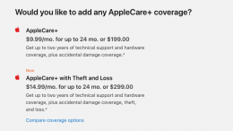GearDiary Applecare Now Offers Theft & Loss Option for an Additional $100