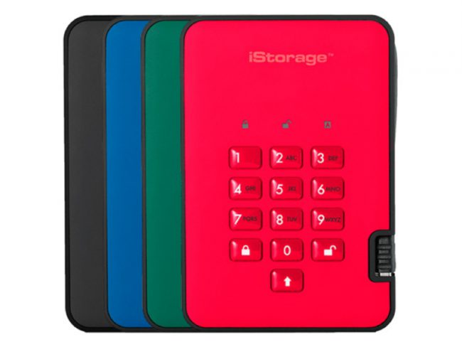 GearDiary iStorage dishAshur2 Offers Solid Secure Data Storage at Home or on the Go