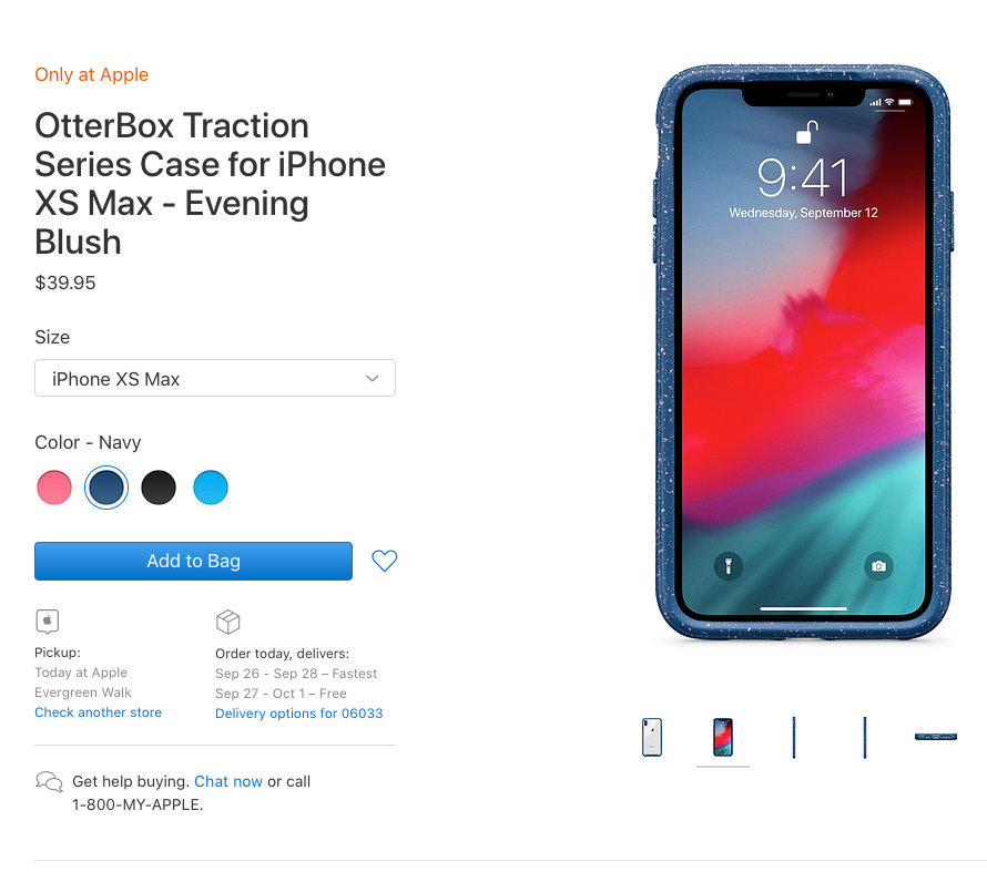 buy online d1ea7 333e9 OtterBox Traction Case for the iPhone XS Max Review
