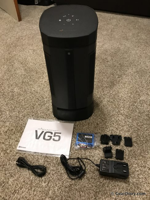 GearDiary Soundcast VG5 All-Weather Bluetooth Speaker is a Tower of Power
