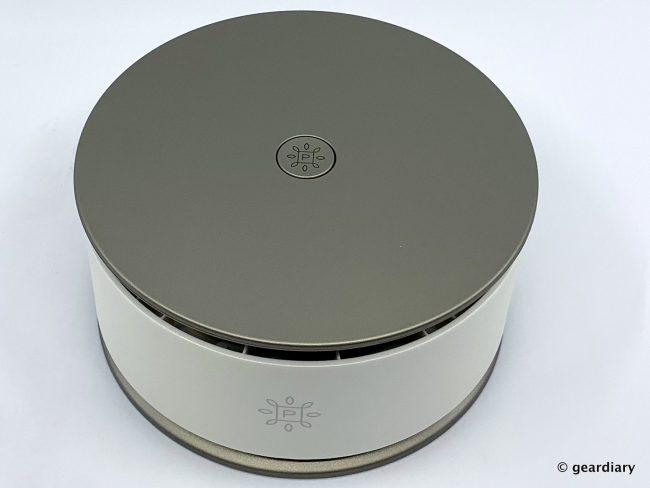 GearDiary Pure Company Portable Air Purifier: A Portable Air Purifier That Works Almost Anywhere