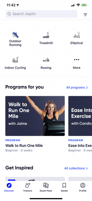 Getting (back) into Shape with Aaptiv
