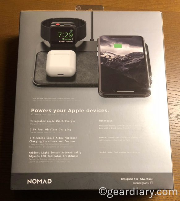 GearDiary Nomad Base Station Apple Watch Edition Is the New Apple-Geek's Best Friend