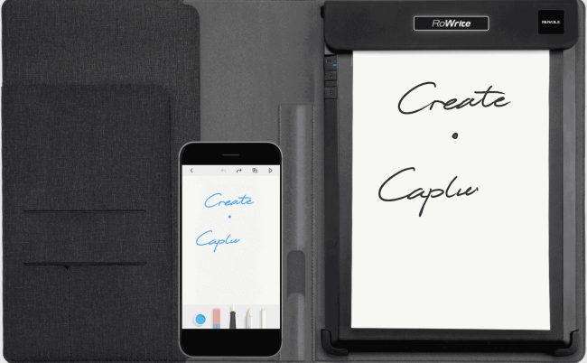 GearDiary RoWrite Is Traditional Note-Taking for the Digital Age
