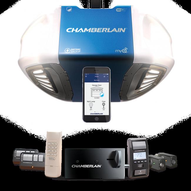 Chamberlain Ultimate Security Bundle The Ideal Garage Door Opener