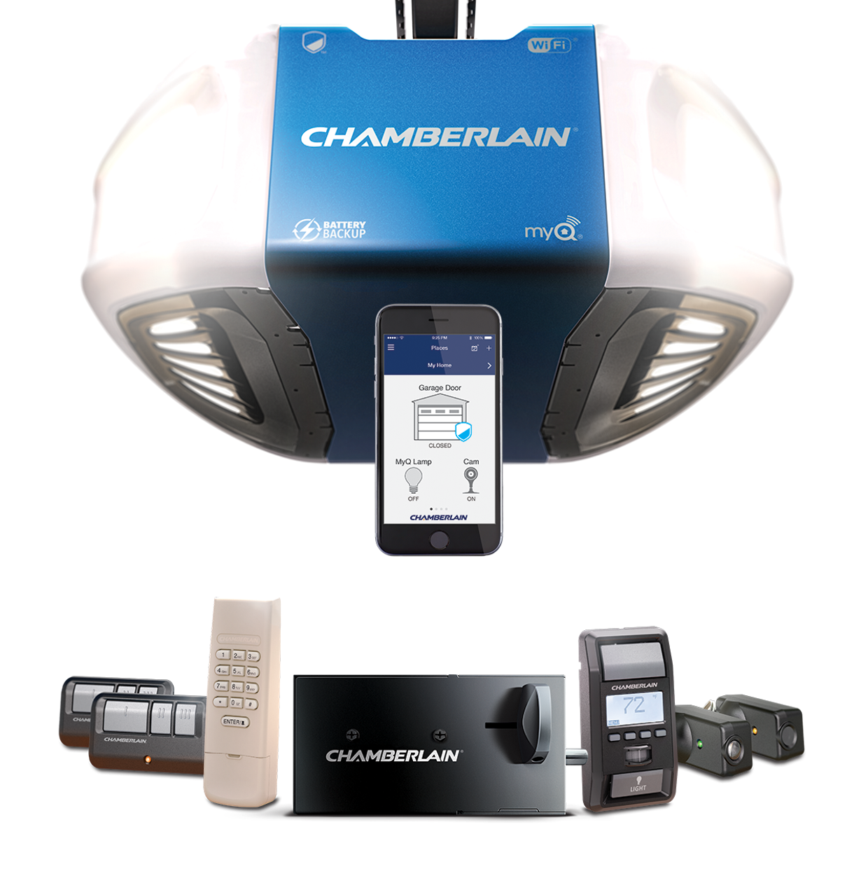 Chamberlain Ultimate Security Bundle The Ideal Garage