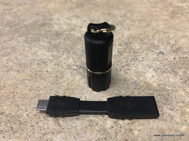 GearDiary ASP Dot Rechargeable Flashlight Review: 130 Lumens on Your Keychain