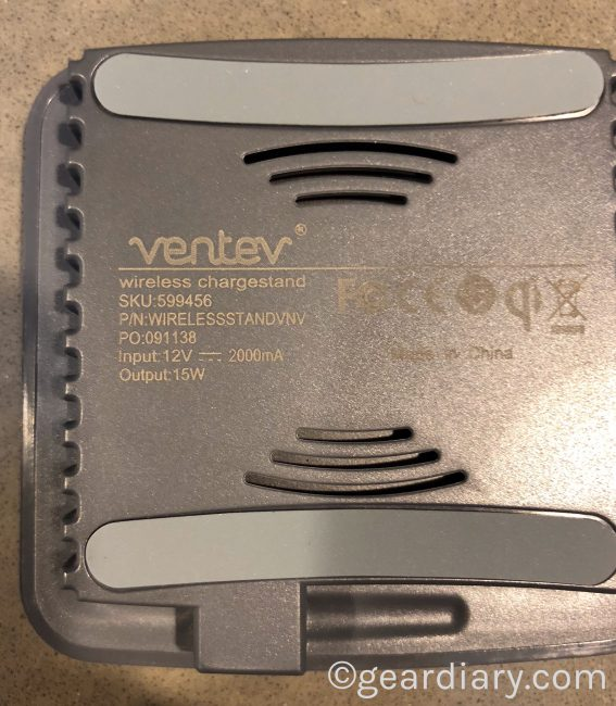 GearDiary The Ventev Wireless Chargestand Is Fast and Flexible
