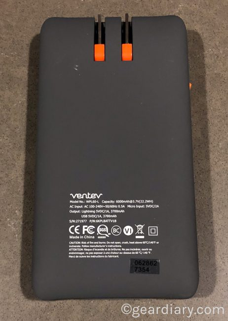 GearDiary Ventev Powercell 6010+ Backup Battery Gets the Job Done