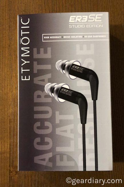 Etymotic ER3SE/XR Earphones Take You and Your Music to New Heights