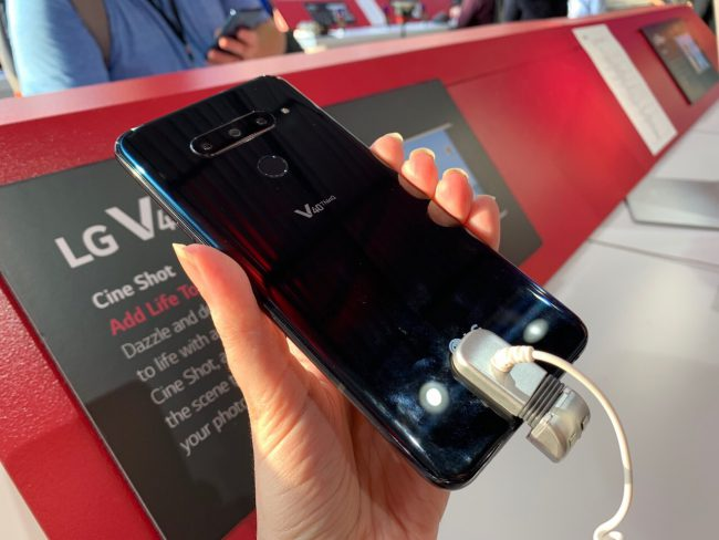 GearDiary LG V40 ThinQ Picks up Five Cameras; You Can Pick up Preorder Goodies from US Cellular